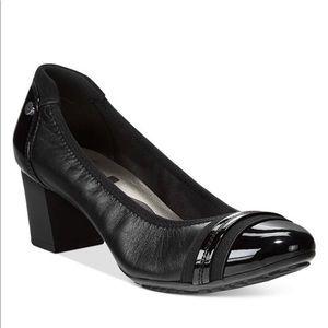 Anne Klein Sport Guardian Block Heel Pumps Black